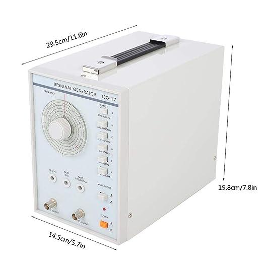 UE 220V Generador de se/ñal TSG-17 Generador de se/ñal RF radiofrecuencia 220V // 110V