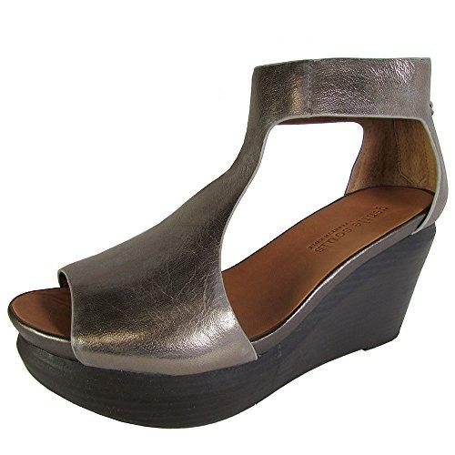 Gentle Souls Women's Juniper Tea Platform Sandal, Graphit...