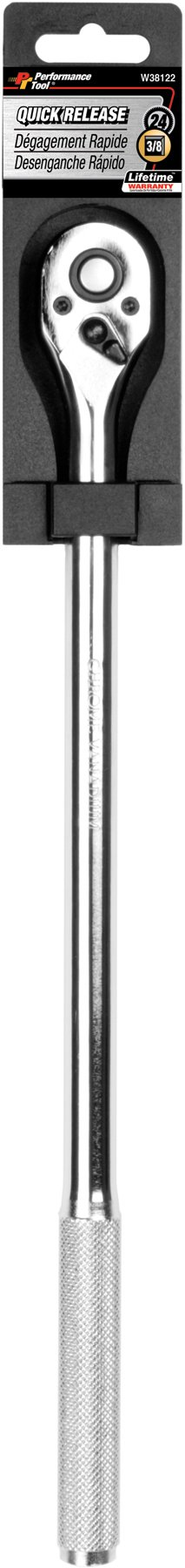 Performance Tool W38122 3/8-Inch Drive Quick Release Tear Drop Ratchet by Performance Tool