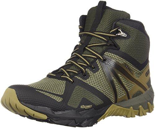 Dusty Men's Hiking Mid MQM Olive Waterproof Flex Shoes Merrell czqAv00