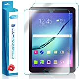 Samsung Galaxy Tab S2 8.0 Screen Protector + Back Cover (2-Pack), ILLUMI AquaShield Premium High Definition Ultra Clear / Invisible Bubble-Free UV Resistant Self-Healing Film w/ Lifetime Warranty