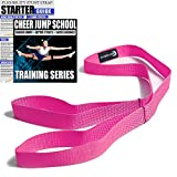 Cheerleading Flexibility Stunt Strap for Stretching 5 Colors Available from Myosource (Pink)