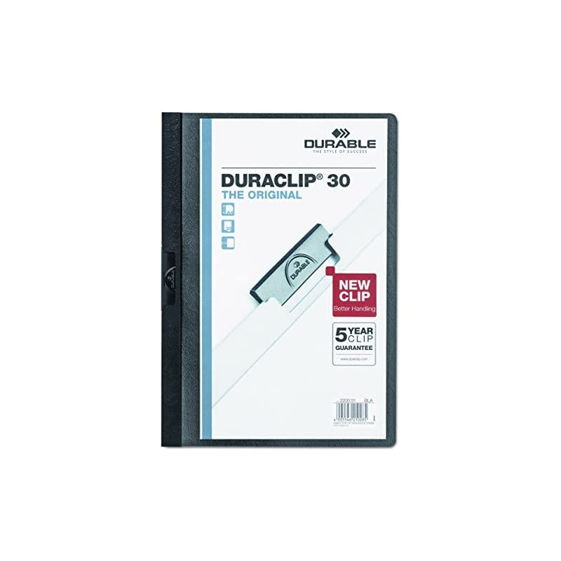 DURABLE Vinyl DuraClip Report Cover with