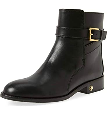 a3338219c31 Amazon.com   Tory Burch Brooke Leather Ankle Bootie, Black (9.5 ...