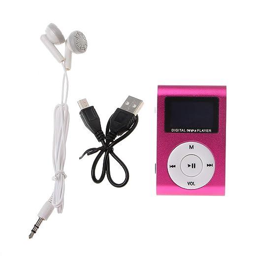 William-Lee MX-801 - Reproductor de música y MP3 con Clip de Metal ...