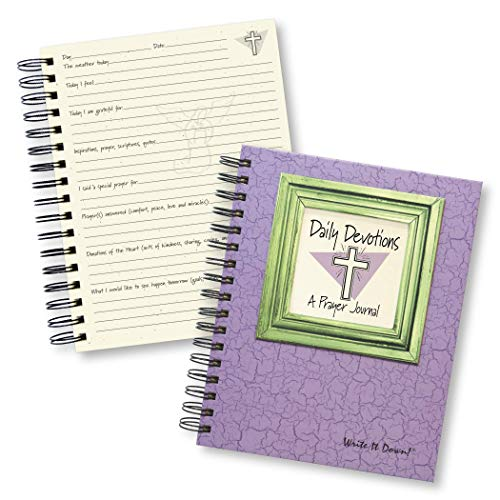 - Daily Devotions, A Prayer Journal (Color)