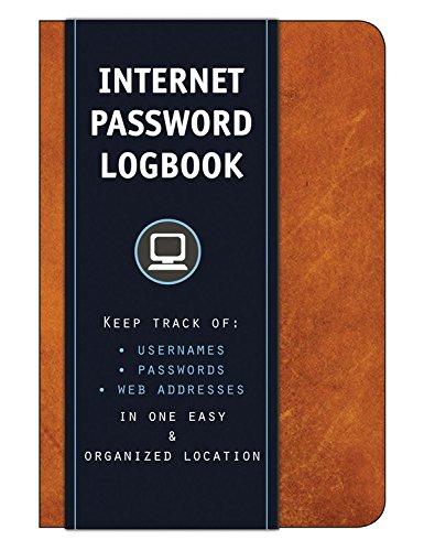 Internet Password Logbook usernames passwords product image