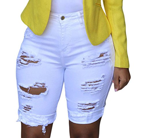 Shawhuwa Womens Summer Destroyed Shorts product image