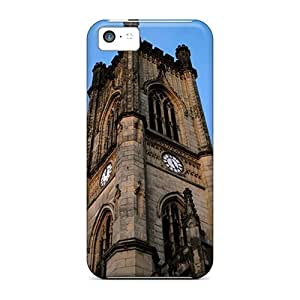 Shock-dirt Proof Clock Tower Case Cover For Iphone 5c by runtopwell