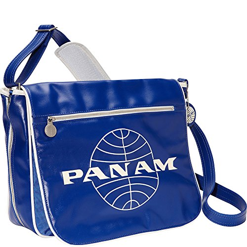 Pan Am Men's Messenger Reloaded, Blue, Large (Am Messenger)
