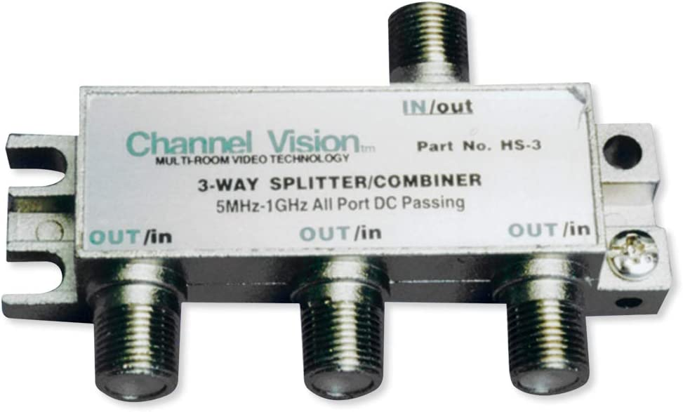 CHANNEL VISION HS-3 3-Way PCB Based Splitters/Combiner