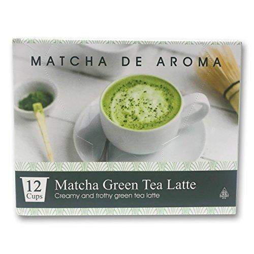 Matcha Green Tea Latte, 12 Single Serve Cups