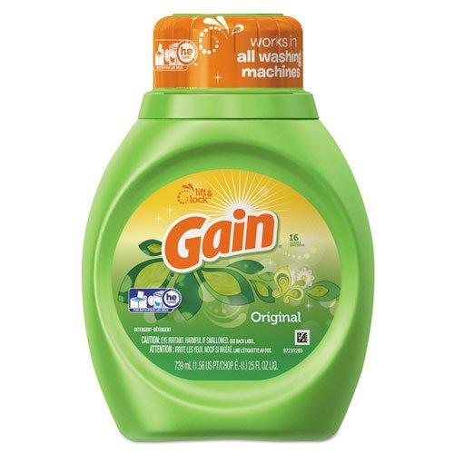 (GAIN 25 oz. Bottle Original Scent Liquid Laundry)