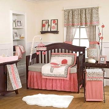 Amazon.com: Alma 4 piezas juego de cama de bebé cuna por ...