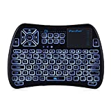 [Update Version] EARME iPazzPort 3 in 1 IR Learning Function 2.4GHZ Wireless Backlit Mini Keyboard with TouchPad and Mouse for Xbox,Android TV Box,Laptop,Desktop,Projector&Smart TV