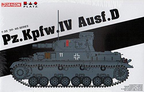 Dragon Models 1/35 Pz.Kpfw.IV Ausf.D Smart Kit from Dragon Models USA