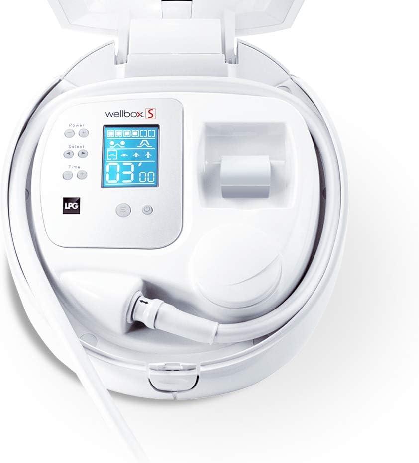 LPG - WELLBOX Aparato de Estimulación Celular Anti-Edad y Adelgazante - Método 100% Natural; Demostrado