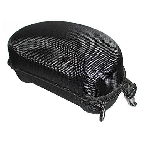 Snowmobile Eyewear Accessories - Mesh Hard Protector Case Bag Box for Outdoor Sports Ski Motorcycle Cycling Bike Snowmobile Goggles Skateboard Eyewear Glasses (Black)