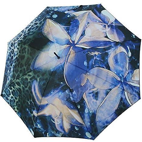 Pierre Cardin Mujer Paraguas Bastón Automático Orquídea Dream