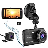 Cheap ssontong Dash Cam, Dual Lens Car Front and Rear Channel Dashboard Camera Full HD 1080P,4.0″ Screen,170 Degree Wide Angle Vehicle On-Dash Video Recorder Built in Night Vision,WDR,32GB SD Card Included