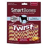 SmartBones 1200 Count Twists-Chicken, One Size