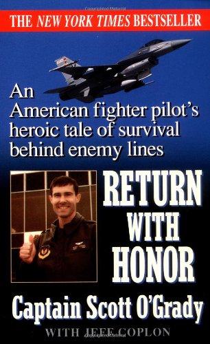 Return With Honor by Scott O'Grady with Jeff Coplon