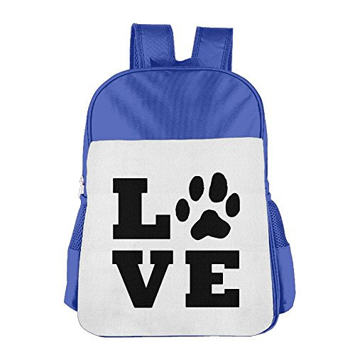Dog Friend Love Children's Backpack School Bag Suitable For 4-15 Year Olds
