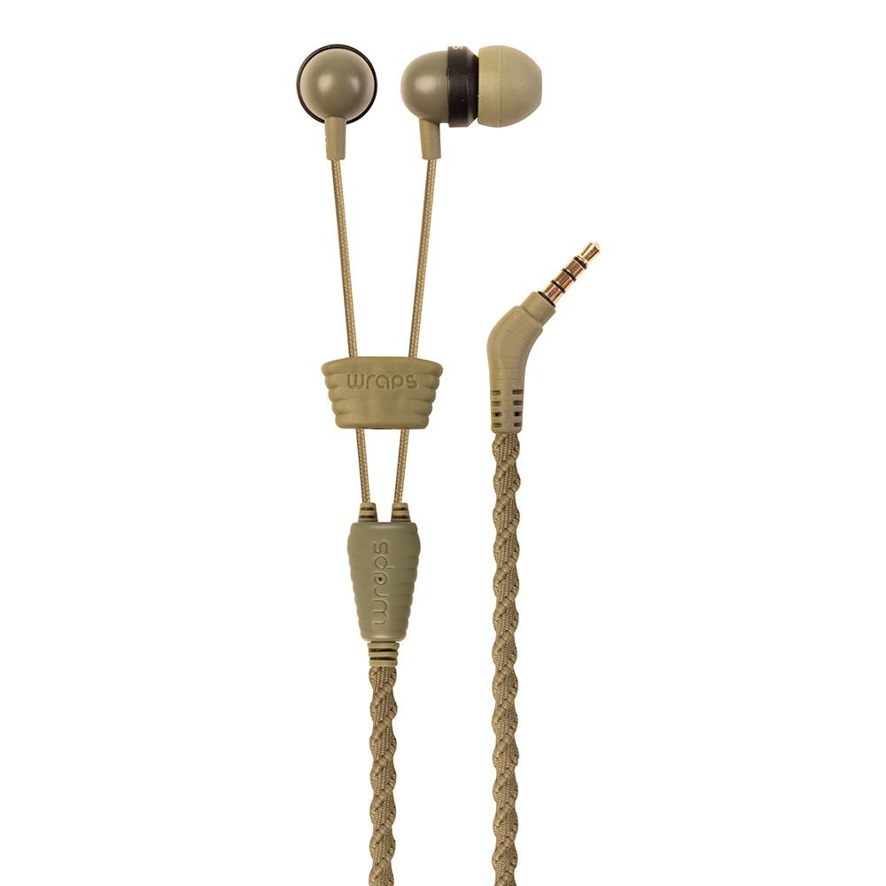 Amazon.com: Wraps Talk In-Ear Earphones with Microphone Camouflage WRAPSCCAM-V15M [FT111521]: Home Audio & Theater