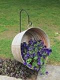 Premium Metal Shepherd Hooks, Solar Light Garden