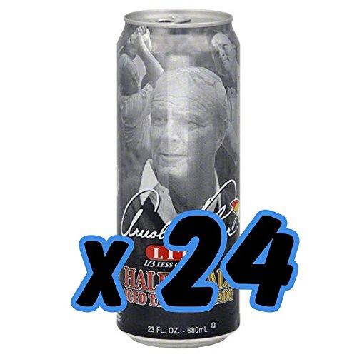 Arnold Palmer Lite Half & Half Iced Tea Lemonade 23-Ounce Cans (Pack of 24)