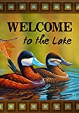Carson Home Accents Garden Flag, Ruddy Ducks