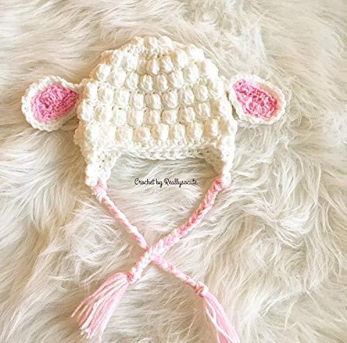 e021c373d2c Amazon.com  Baby lamb hat