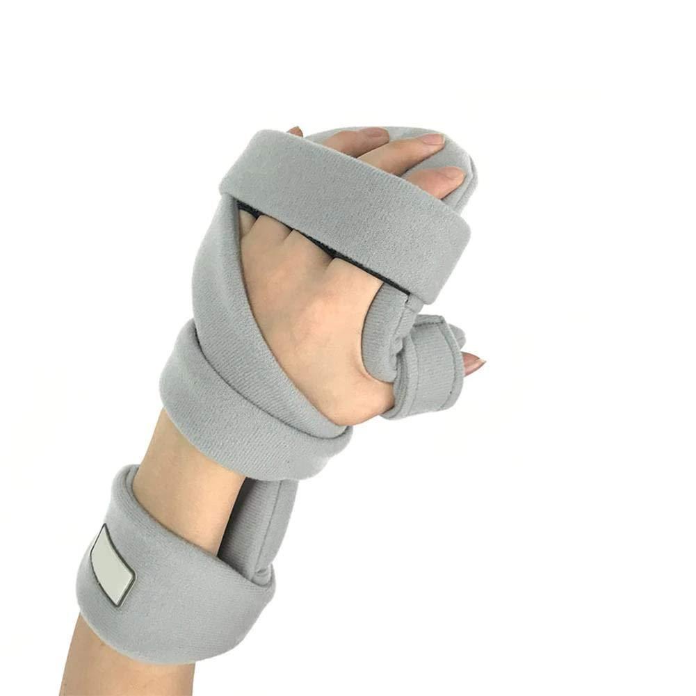 BASANZO Resting Hand Splint Night WristThumb Wrist Fracture Resting Hand Splint Night for Pain Tendinitis Sprain Fracture Arthritis Dislocation