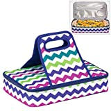 Insulated Casserole Carrier Travel Carry Bag ZIG ZAG DESIGN by Dawhud Direct