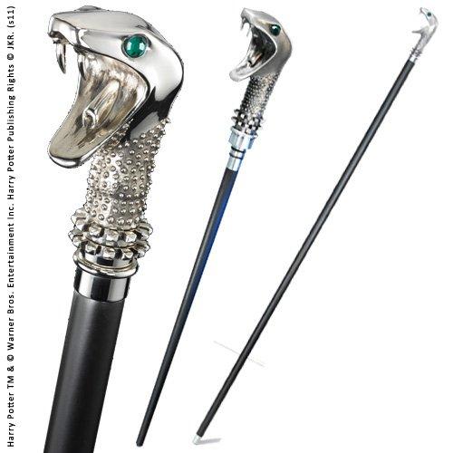 Noble Collection NN7639 - Harry Potter: Bastone e Bacchetta di Lucius Malfoy