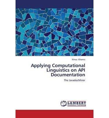 Applying Computational Linguistics on API Documentation (Paperback) - Common