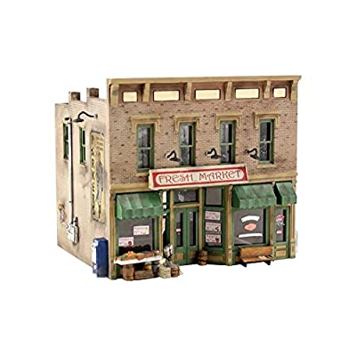Woodland Scenics N KIT Fresh Market WOOPF5200: Toys & Games
