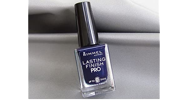 Amazon.com : Rimmel Lasting Pro Nail Polish #420 Midnight Blue : Beauty