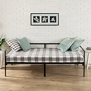 zinus quick lock twin day bed frame with steel slat support - Day Bed Frame