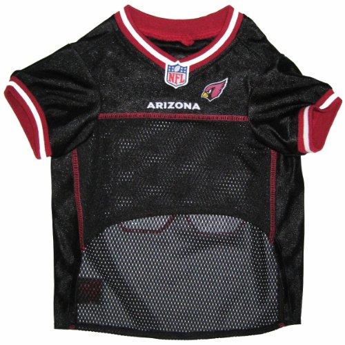 Pets First NFL Arizona Cardinals Jersey, Large, My Pet Supplies