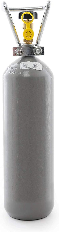 Gase Dopp Co2 2 Kg Flasche Gefüllt Mit Lebensmittel Co2 E290 Kohlensäureflasche Kohlendioxid Neu TÜv 2029 Haustier