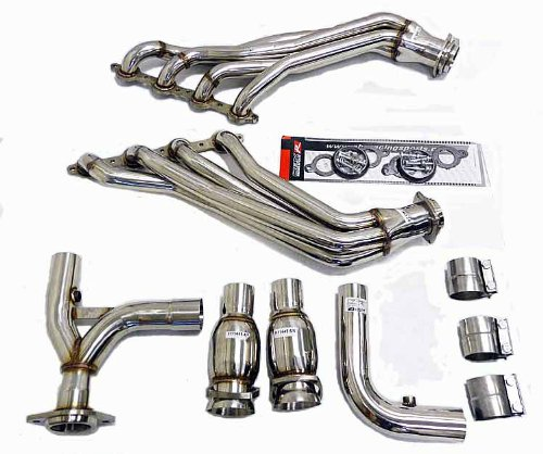 Ls1 Y-pipe (OBX Performance Catted Header Exhaust Manifold CHEVY SSR 03-06 5.3L 6.0L LS1 LS2 Y-Pipe)