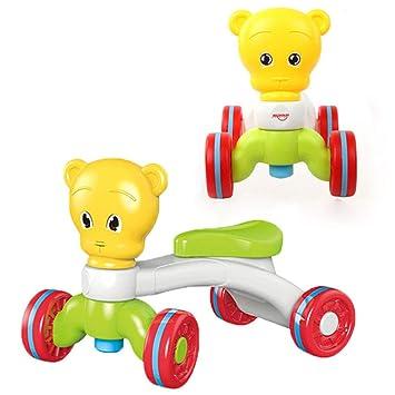 QHWJ Andador para bebés, Scooter de Juguete multifunción Anti ...