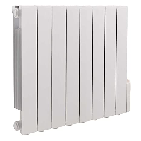 Wall Mounted Oil Filled Radiator >> Thermostat 1500w Oil Filled Electric Radiator Heater Wall