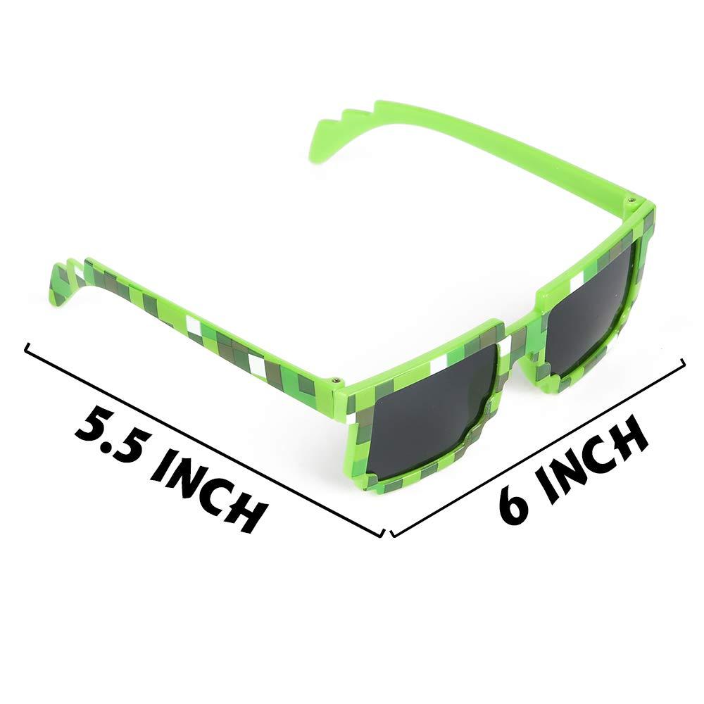 Amazon.com: Proloso - Gafas de sol con mosaico pixelado ...
