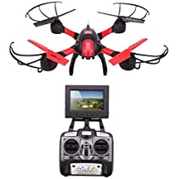 Tiangtech® Sky Capture 2.4GHz RC Drone Quadcopter with FPV Hawkeye Video Camera and 4CH Remote Transmitter with LCD Monitor