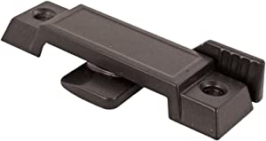 """Prime-Line F 2589 Sash Lock for Vertical and Horizontal Sliding Windows – Replace Broken Sash Locks for Additional Home Security, 2-1/4"""" Mounting Hole Centers, Black Diecast, 3/8 Inch"""