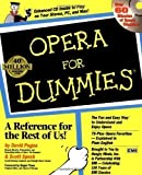 img - for Opera For Dummies by Pogue, David, Speck, Scott Pap/Com Edition (1997) book / textbook / text book
