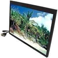 "ACCELE LCDM154VGAH 15.4"" Widescreen Video/VGA/HDMI Metal Framed LCD Monitor"
