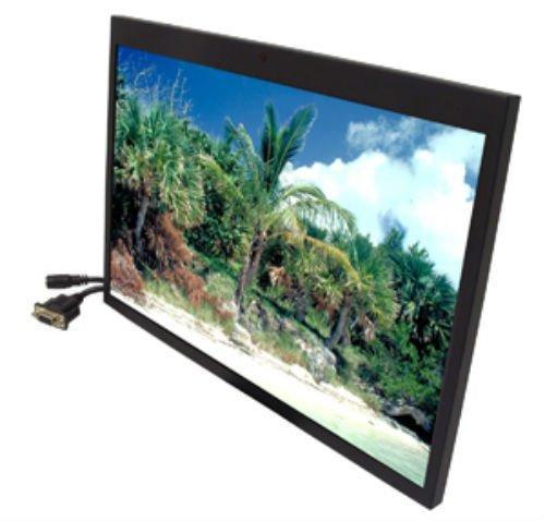 ACCELE LCDM154VGAH 15.4″ Widescreen Video/VGA/HDMI Metal Framed LCD Monitor